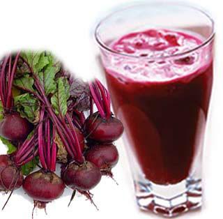 Proprietati suc de sfecla rosie