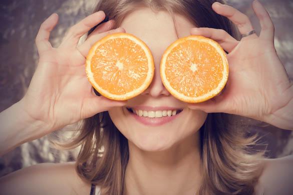 masca de fata cu portocala si iaurt