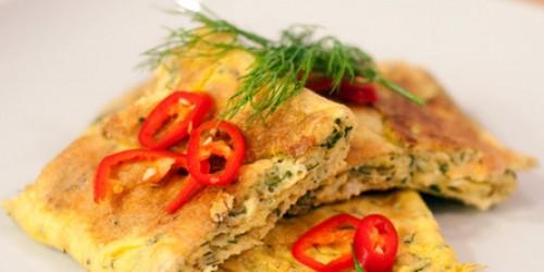 preparare omleta cu marar